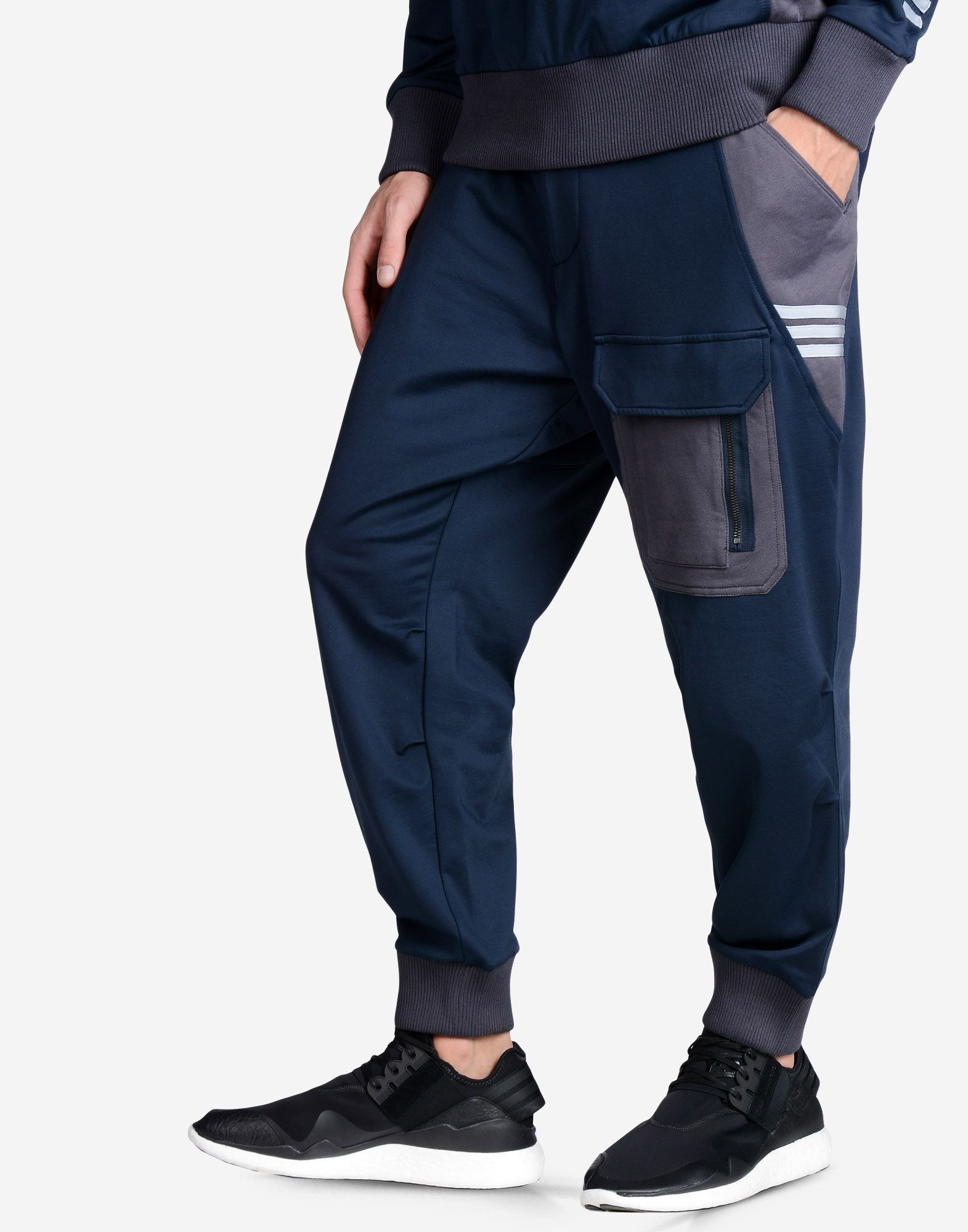 f7d7e43b Y-3 LUX DRILL TRACK PANT PANTS man Y-3 adidas | Men | Track pants ...
