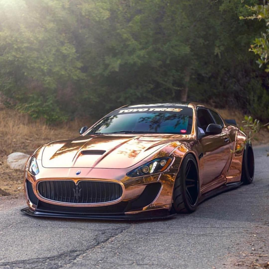 Rose Gold Granturismo Hot Or Nah Via Yumcha La Sports Carss