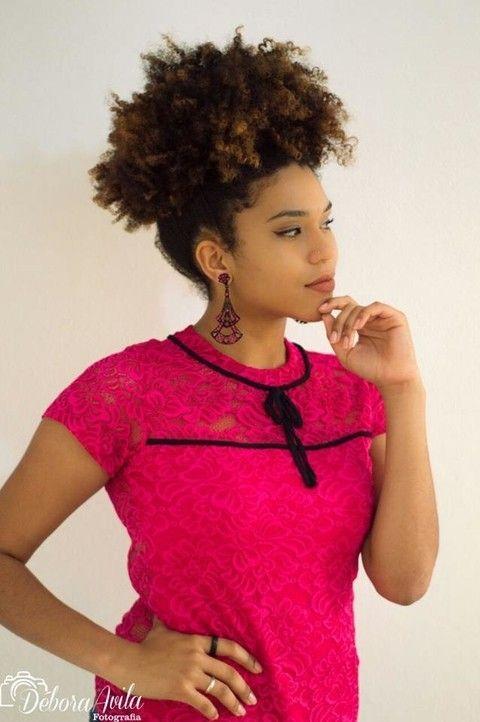 Blusa em Renda Pink Teodoro Salazar