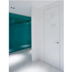 Fire resistant hinged system REI 30- EI1 30 L'Invisibile by Portarredo