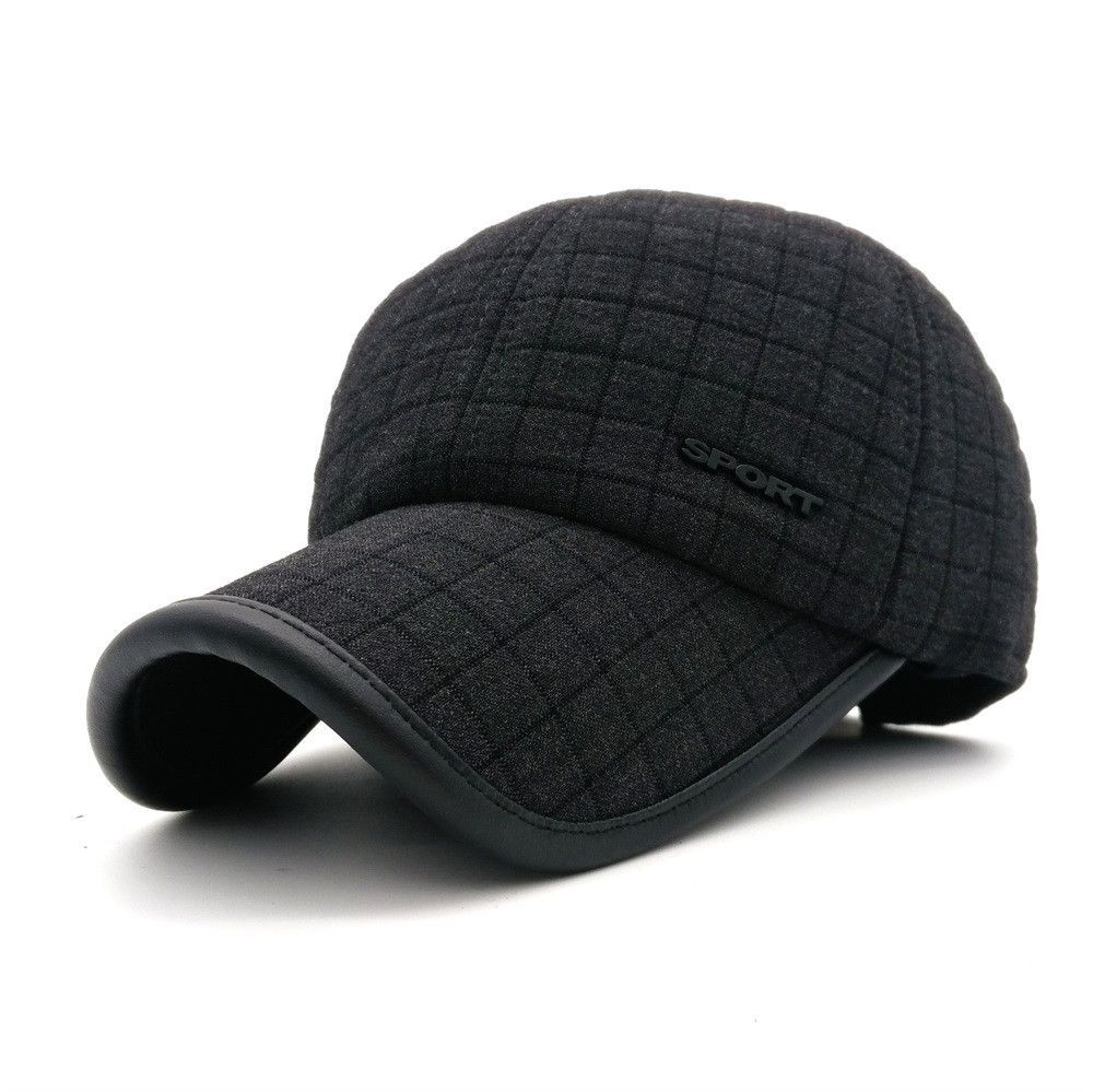 minhui new cotton baseball caps men winter hat outdoor sport golf