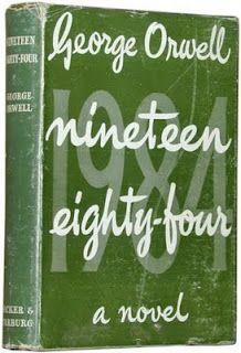 original UK quad film movie poster  George Orwell