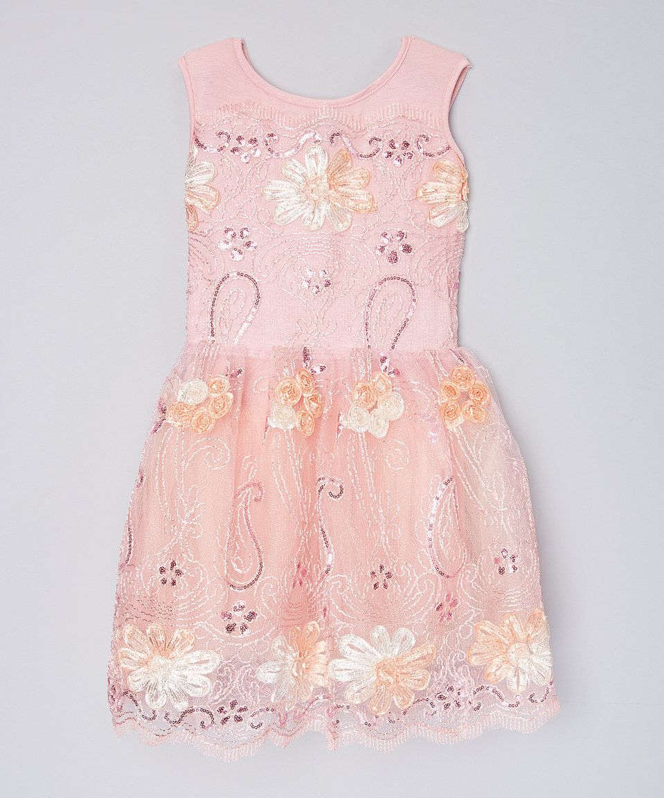 This Blush Once Upon a Dream - Girls by fiveloaves twofish is perfect! #zulilyfinds