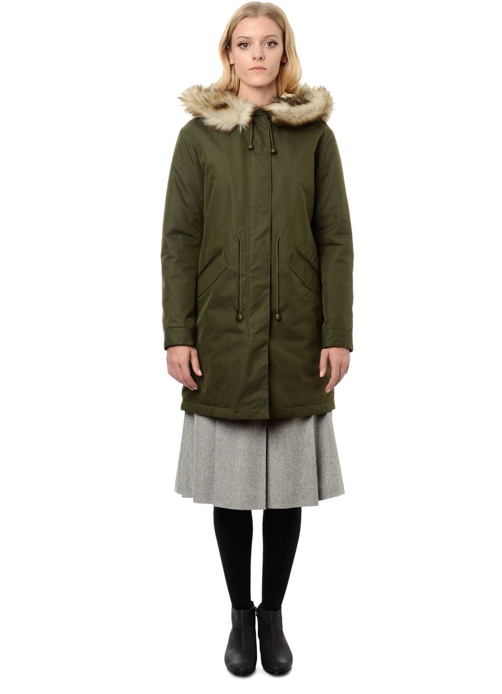A.P.C. NEW MOD PARKA | women's coats | Pinterest | Coats