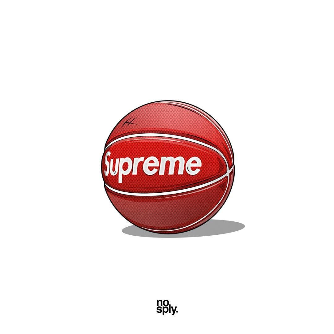 Supreme X Spalding Basketball Spring Summer 2007 Supreme Wallpaper Backyard Basketball Supreme Art