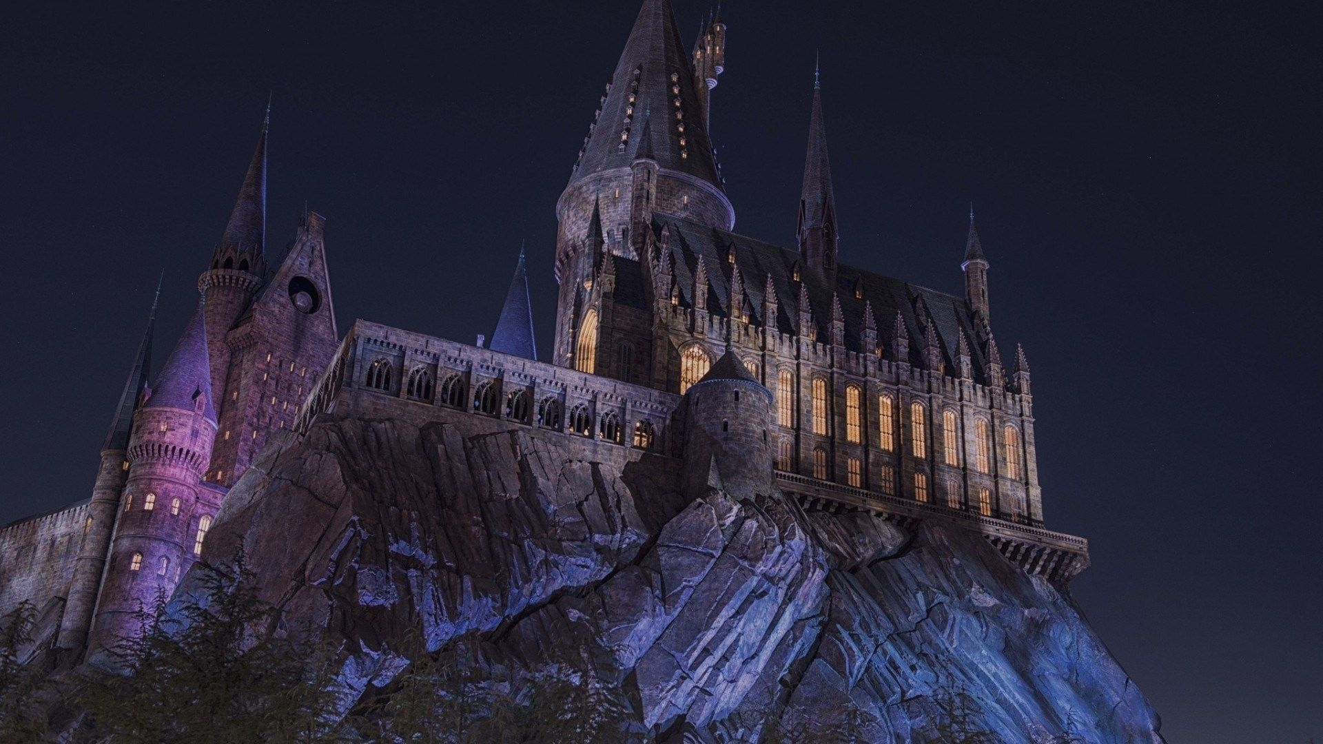hd hogwarts castle background o oshenka Pinterest