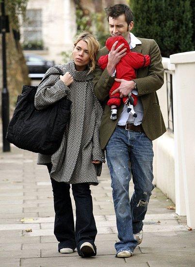 Billie and David Manip David tennant, Rose, the doctor
