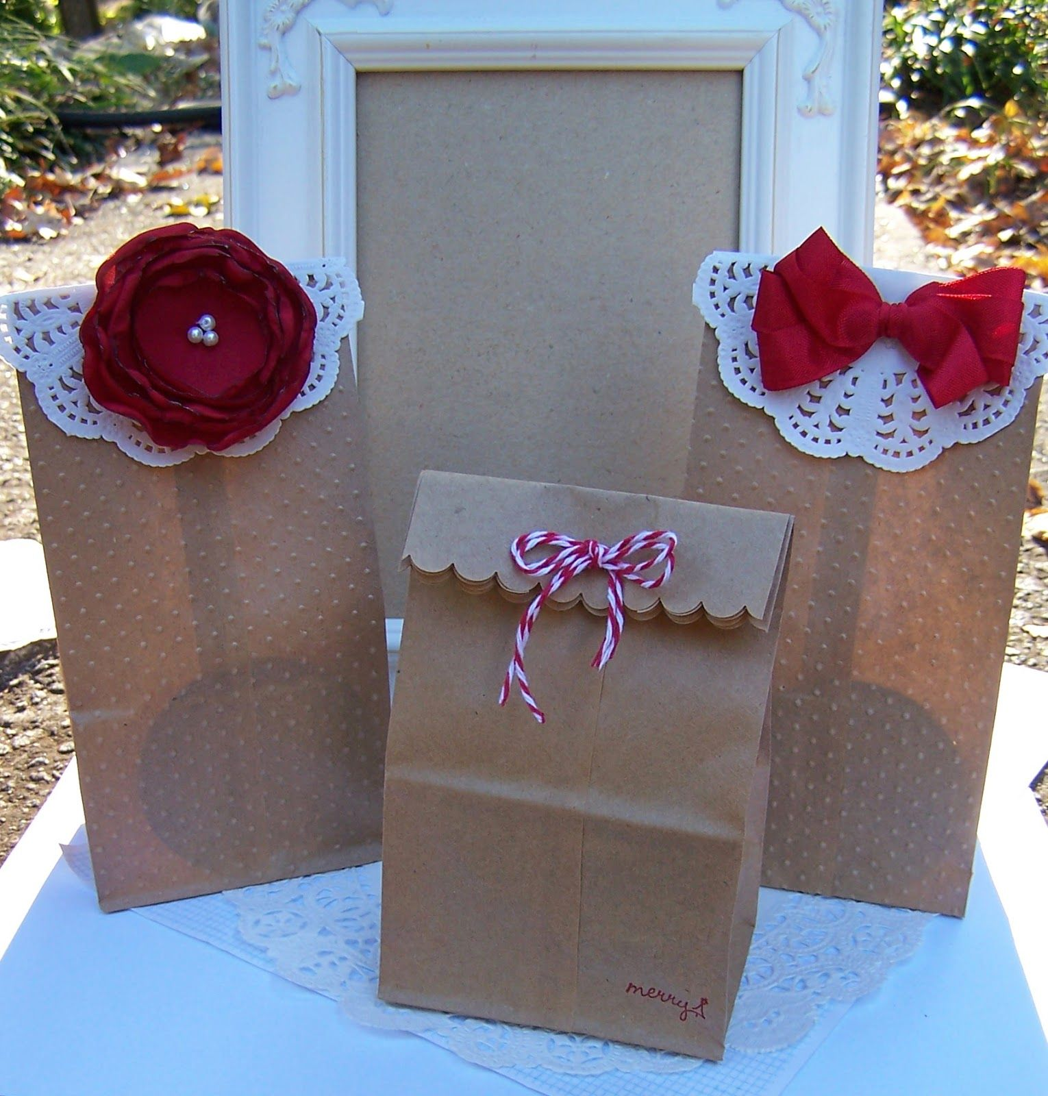 Adorable The Curtsey Boutique Diy Christmas Gift Bag Kits
