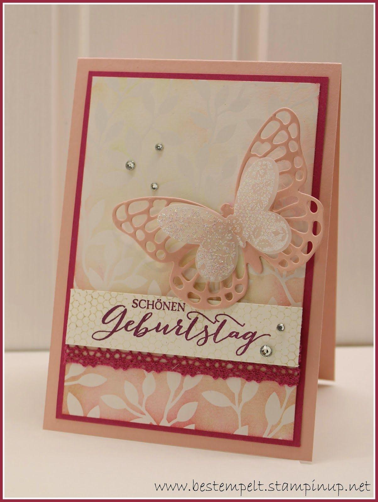 Stampin Up Handmade Card Www Bestempelt De