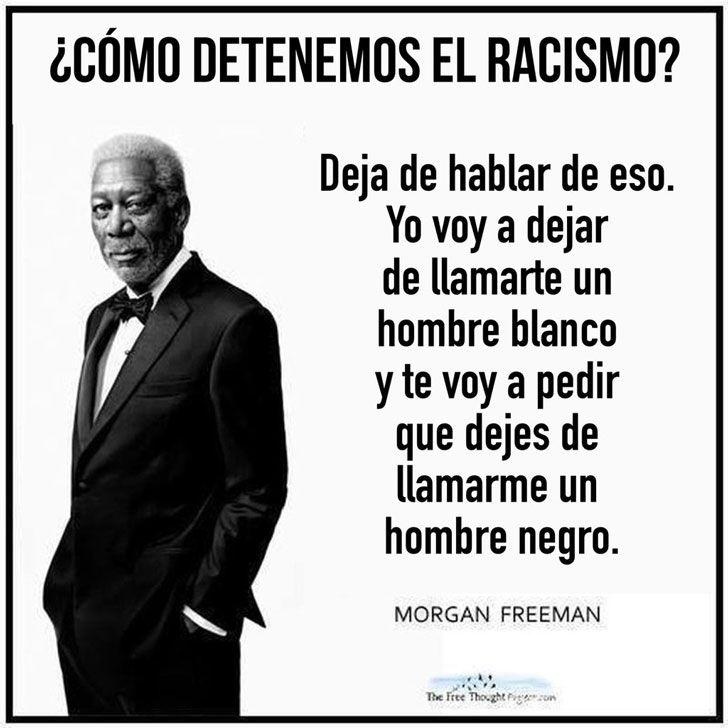 Morgan Freeman habla del racismo