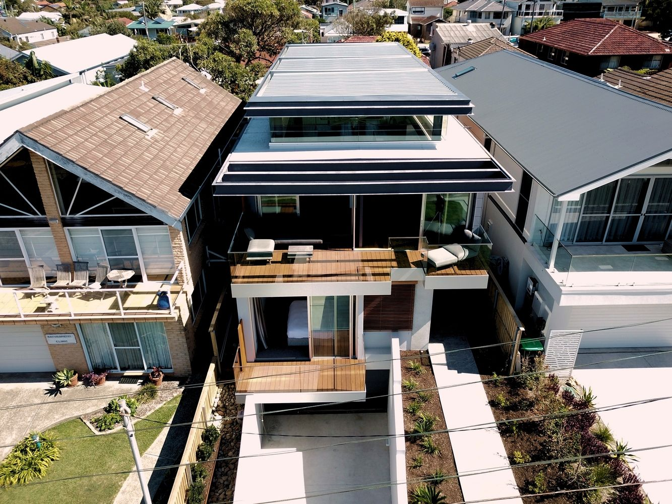 Gallery of north curl house rolf ockert design latest designs also rooftop rh pinterest