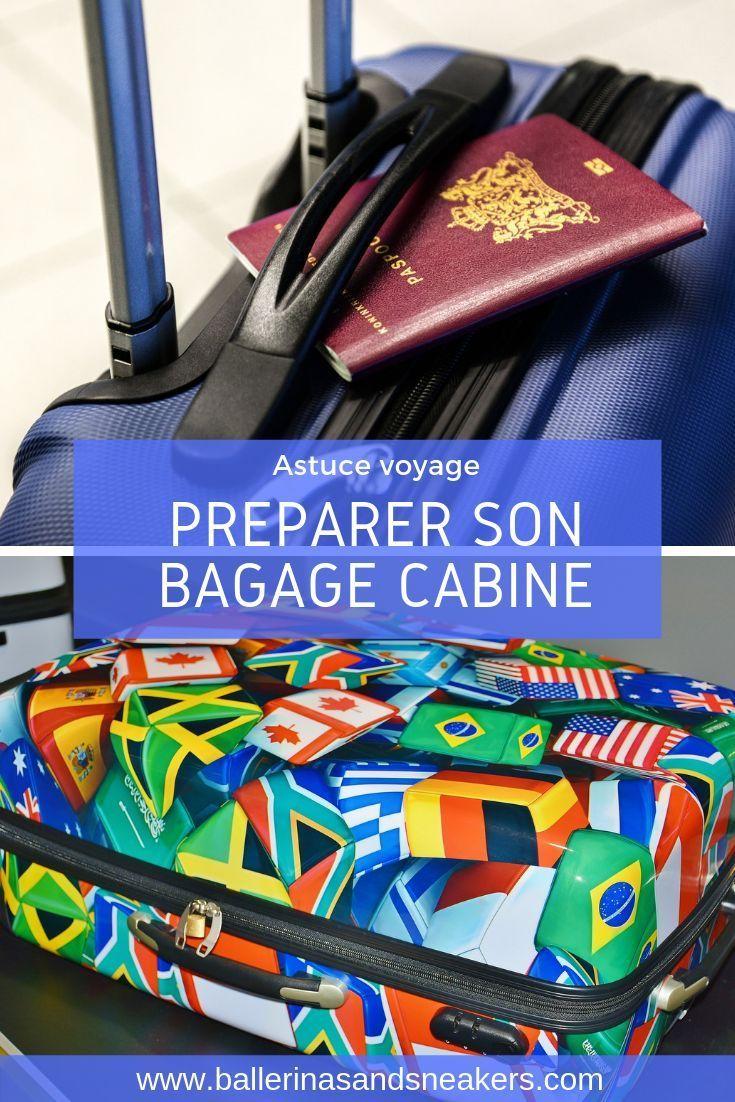 Astuces pour bien préparer son bagage cabine en voyage.