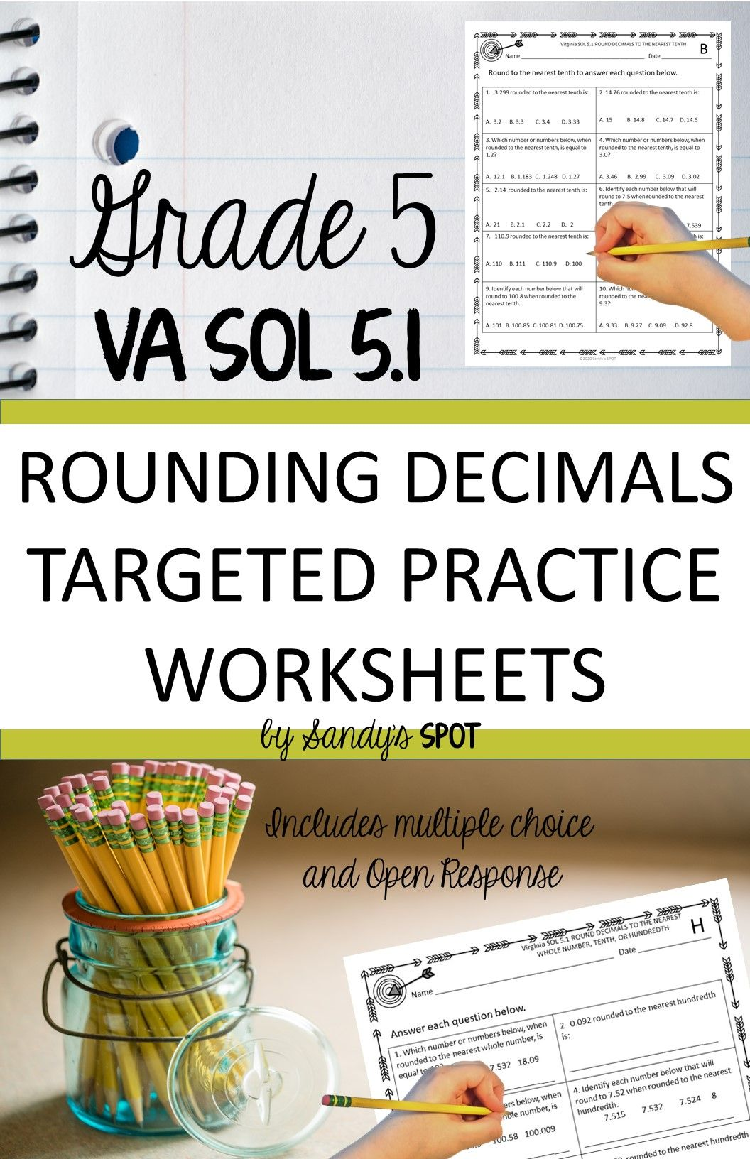 Rounding Decimals Rounding Decimals Decimals 5th Grade Math