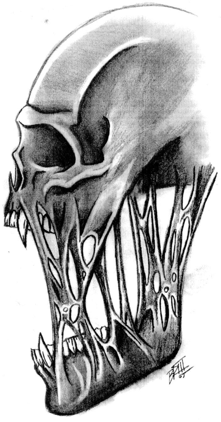 Cool Skull Sketch : skull, sketch, Skull, Flesh, Still, Holding, Together., Description, Deviantart.com., Searched, Bing.com/…, Skulls, Drawing,, Drawings,, Artwork