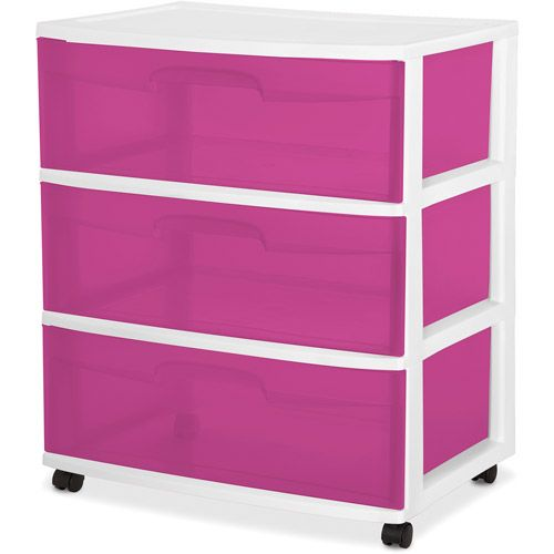 Sterilite 3 Drawer Wide Cart Mystea S Closet Hide A Way Ikea