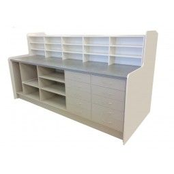 Pharmacy Dispensary Unit Made To Measure Pharmacy Counter With Open Stortage Extending Draws Let Us Create The Perfect Phar Workstation Pharmacy The Unit