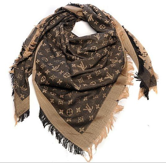 louis vuitton scarves monogram denim shawl m71380