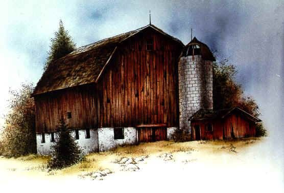 pattern packets barn at pine knob painting pinterest pine