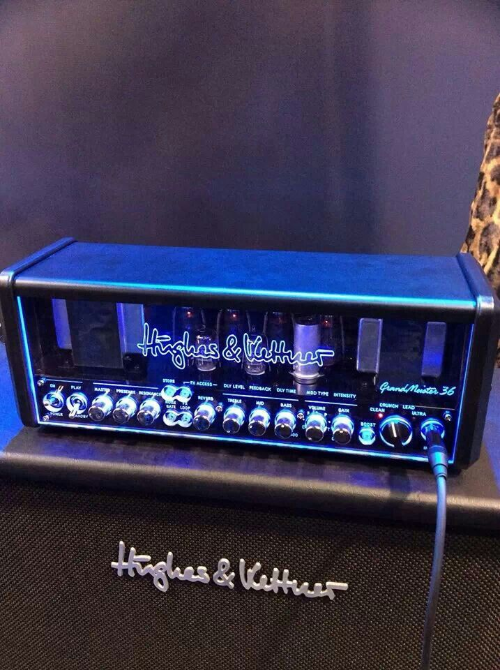Hughes Kettner 36 Watt Grandmeister Analog Tube Amp Guitar Amp Guitar Amp