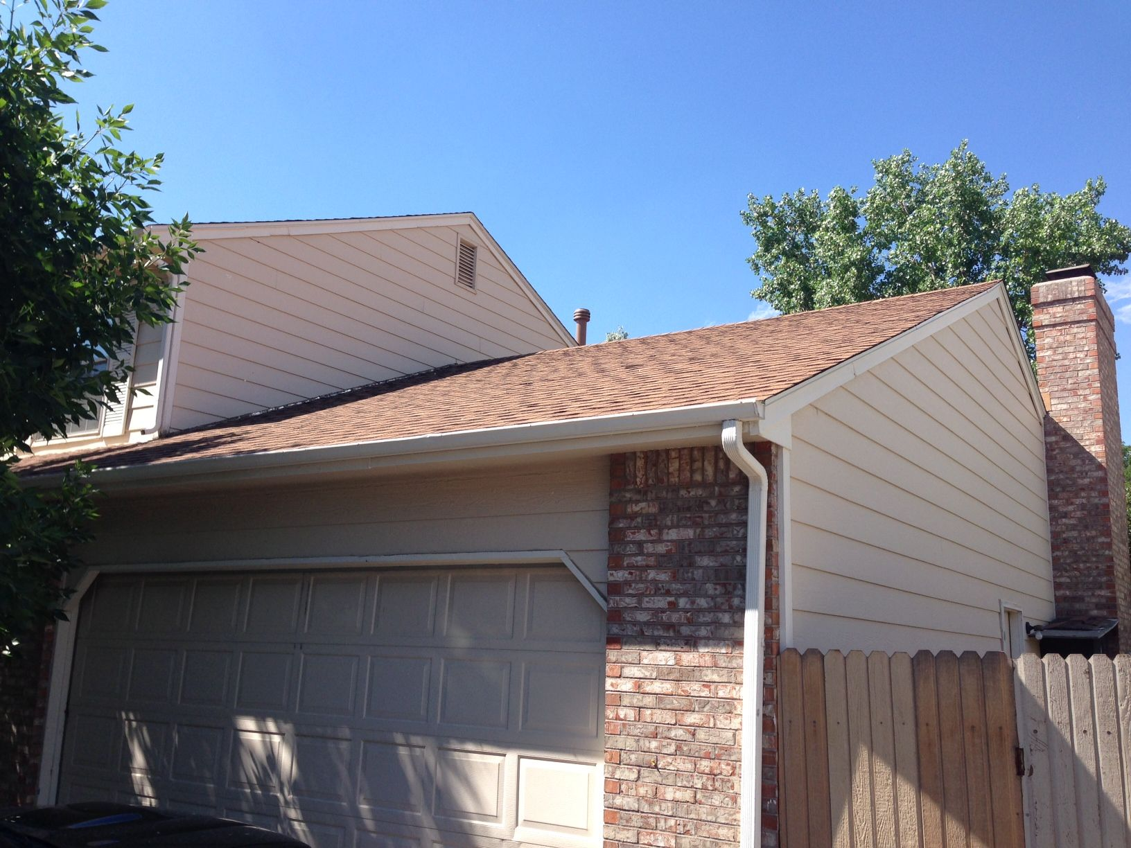 Owens Corning Oakridge Desert Tan Shingles Roof Replacements By