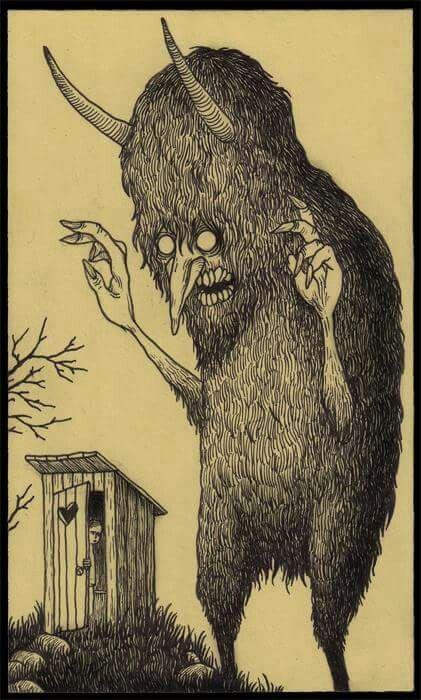 John Kenn Mortensen Illustration Dibujos Terrorificos Arte Espeluznante Ilustraciones