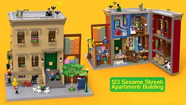 Lego Sesamstr.