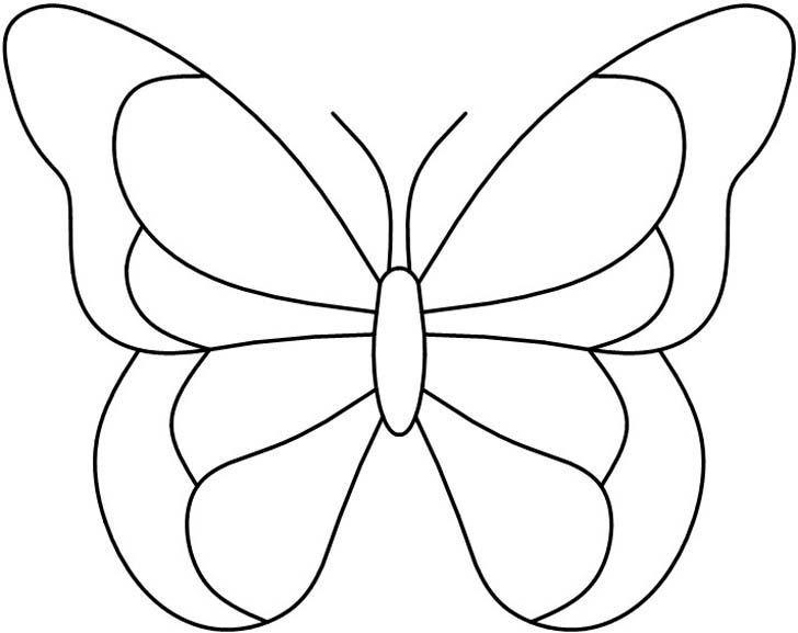 Kelebek Kaliplari Boyama Patrones De Vidrieras Mariposa De