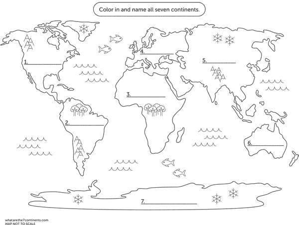Looking for a printable coloring map of the seven continents then looking for a printable coloring map of the seven continents then you are in the right place we have custom designed just such a map just for you gumiabroncs Choice Image