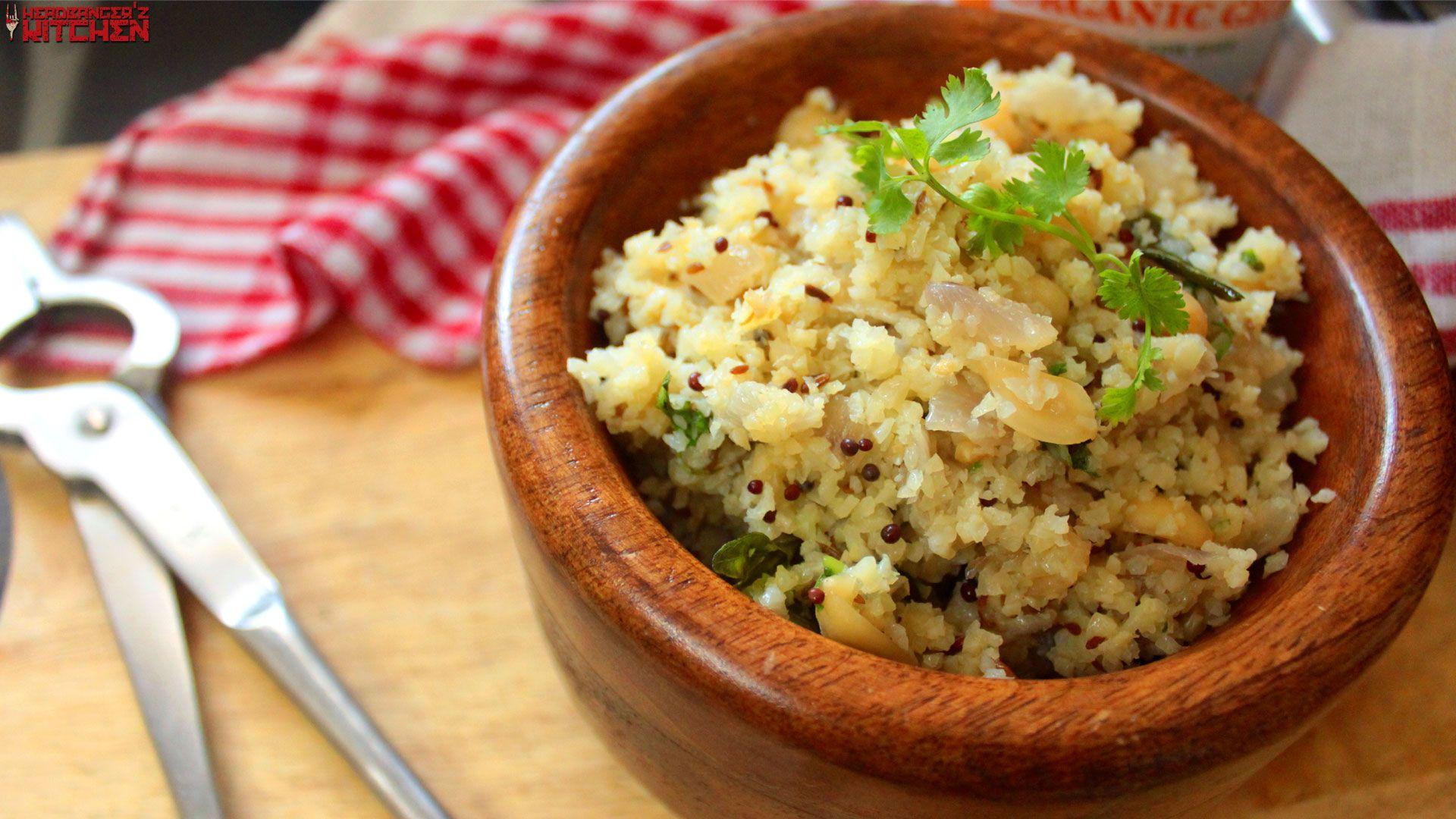 Keto upma indian breakfast dish headbangers kitchen
