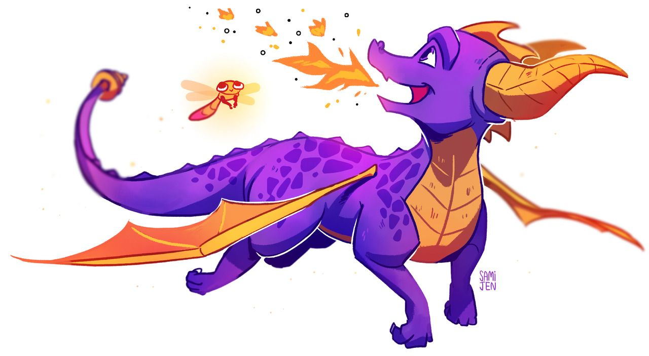 View this on twitter cos its the star meme thats been goin on - #art #artists #dragon #fanart #Illustration #on #reignited #spyro #the #trilogy #tumblr