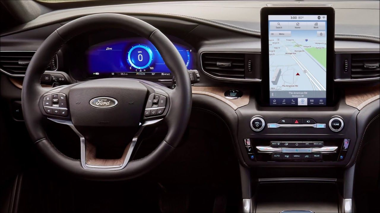2020 Ford Explorer Interior Exterior Price Ford Car Videos