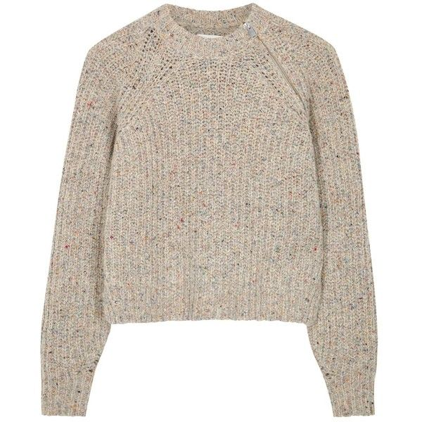 Isabel Marant Étoile Happy oatmeal chunky-knit jumper (190.110 CRC ...