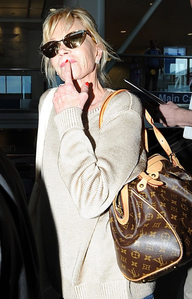 d70cd940b592 The Many Bags of Celebrities at LAX ~ Louis Vuitton Tivoli GM