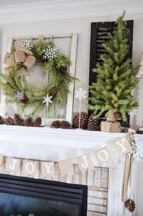 Rustic Christmas Decor Ideas 2019 - French Home Living
