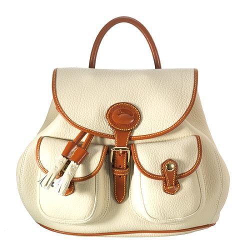 Dooney & Bourke Nubuk Leather Medium Backpack