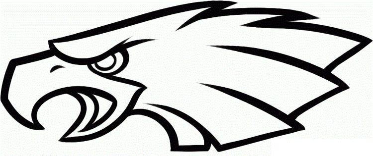 Read Morenfl Coloring Pages Philadelphia Eagles Logo