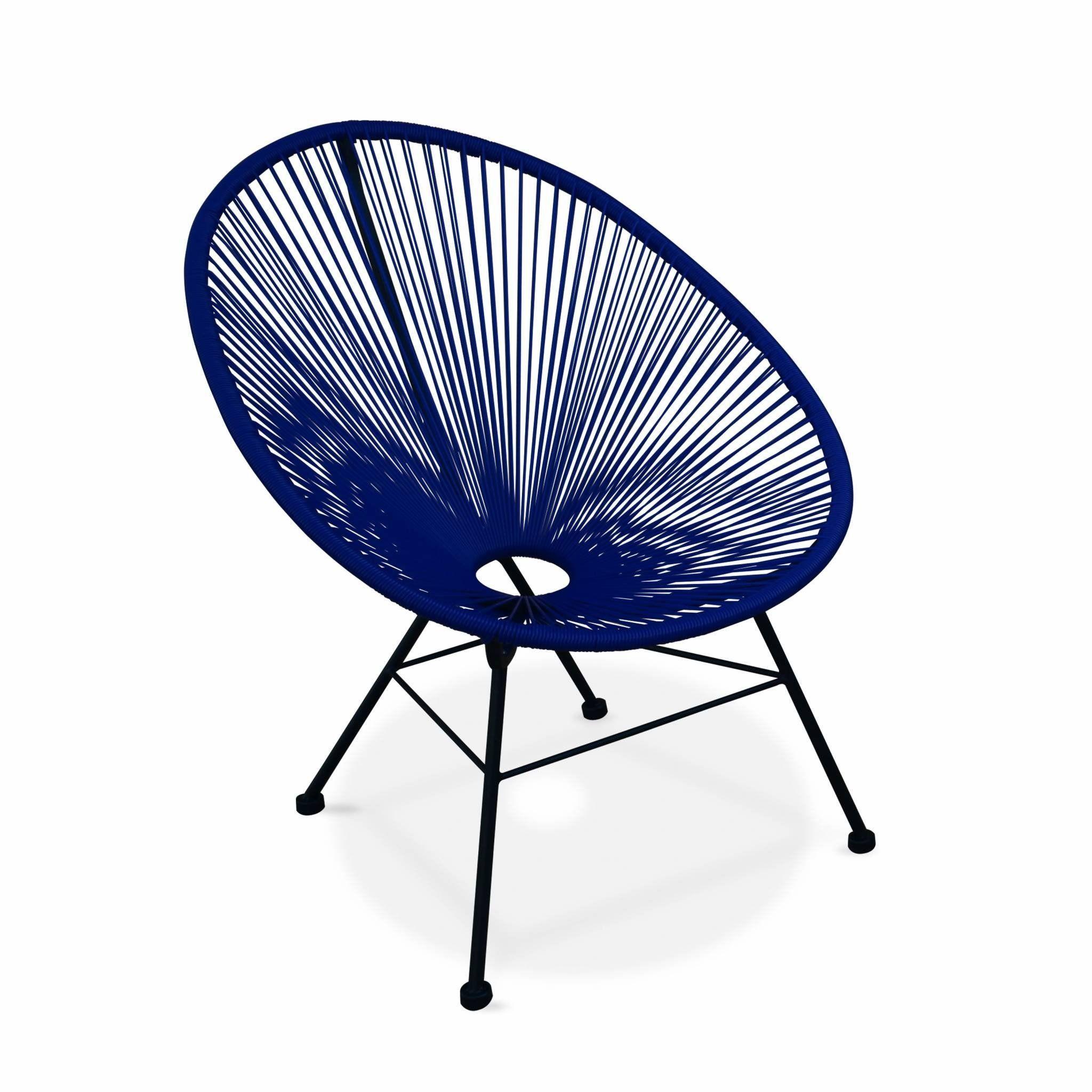 Alice\'s Garden - Fauteuil Design Oeuf - Acapulco Bleu Roi ...