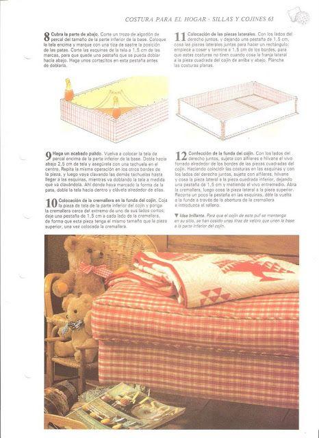 Capas para sofa e cadeiras - como fazer - Terepachcostura - Picasa Webalbums
