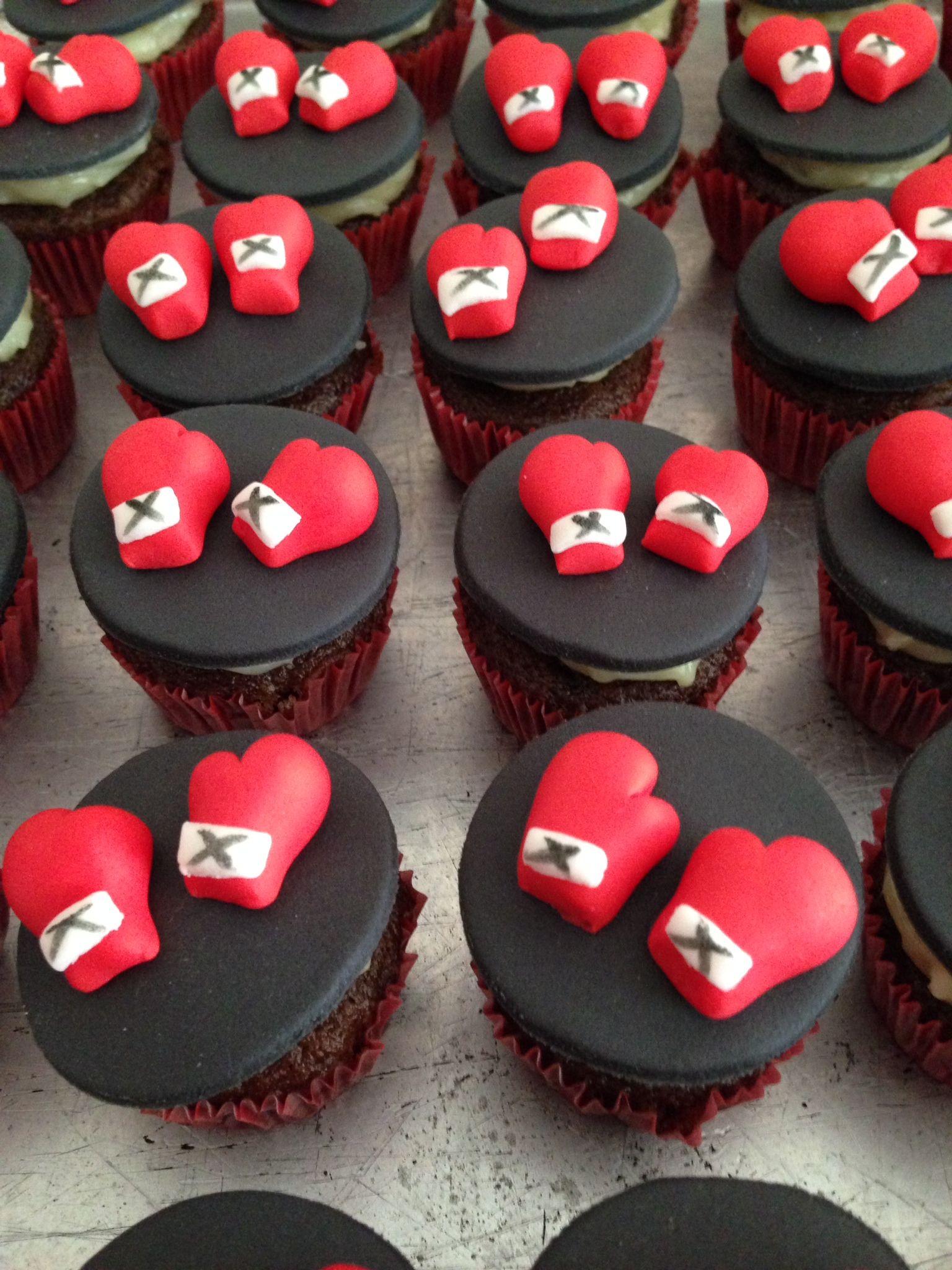 Cupcakes Ufc Fighter Ficaram Fofinhos E Deliciosos