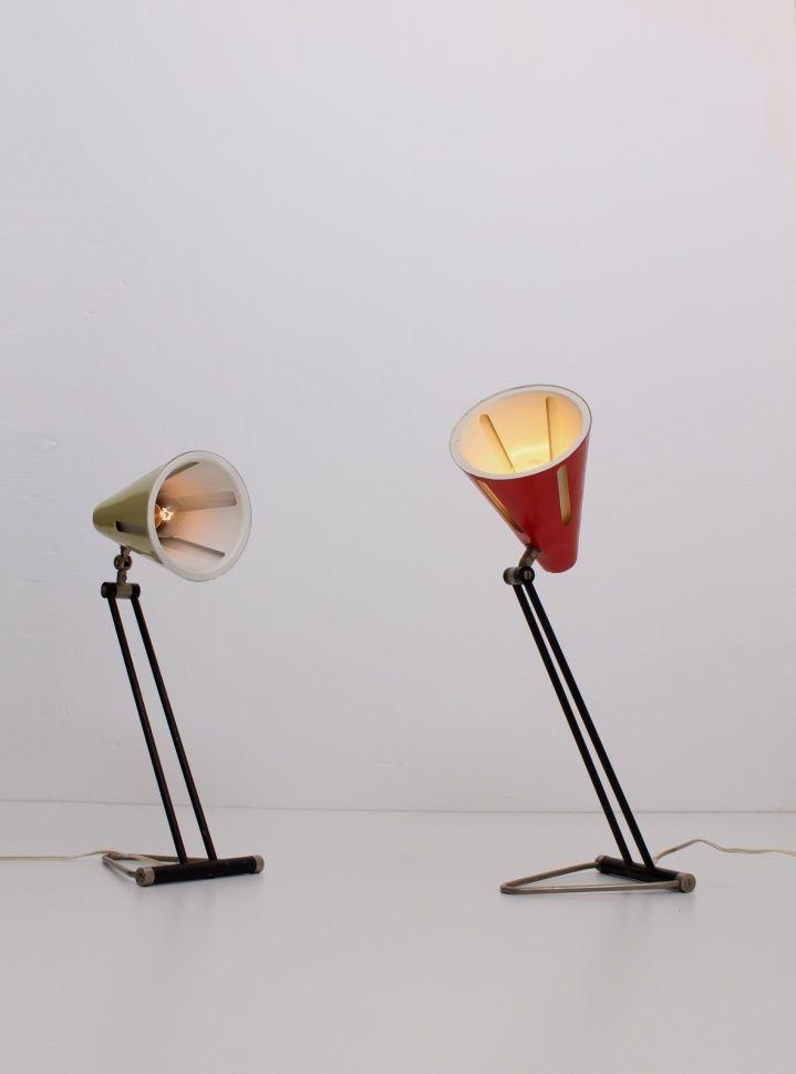 Busquet sun serie lamps 1950´s