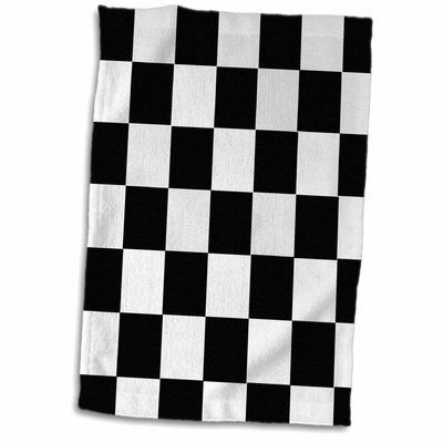 Symple Stuff Marzano Checkered Hand Towel Hand Towels Towel Set Towel