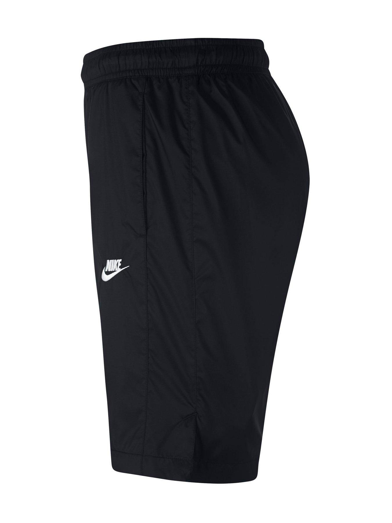 Nike Sportswear Woven Track Shorts Black Sportswear