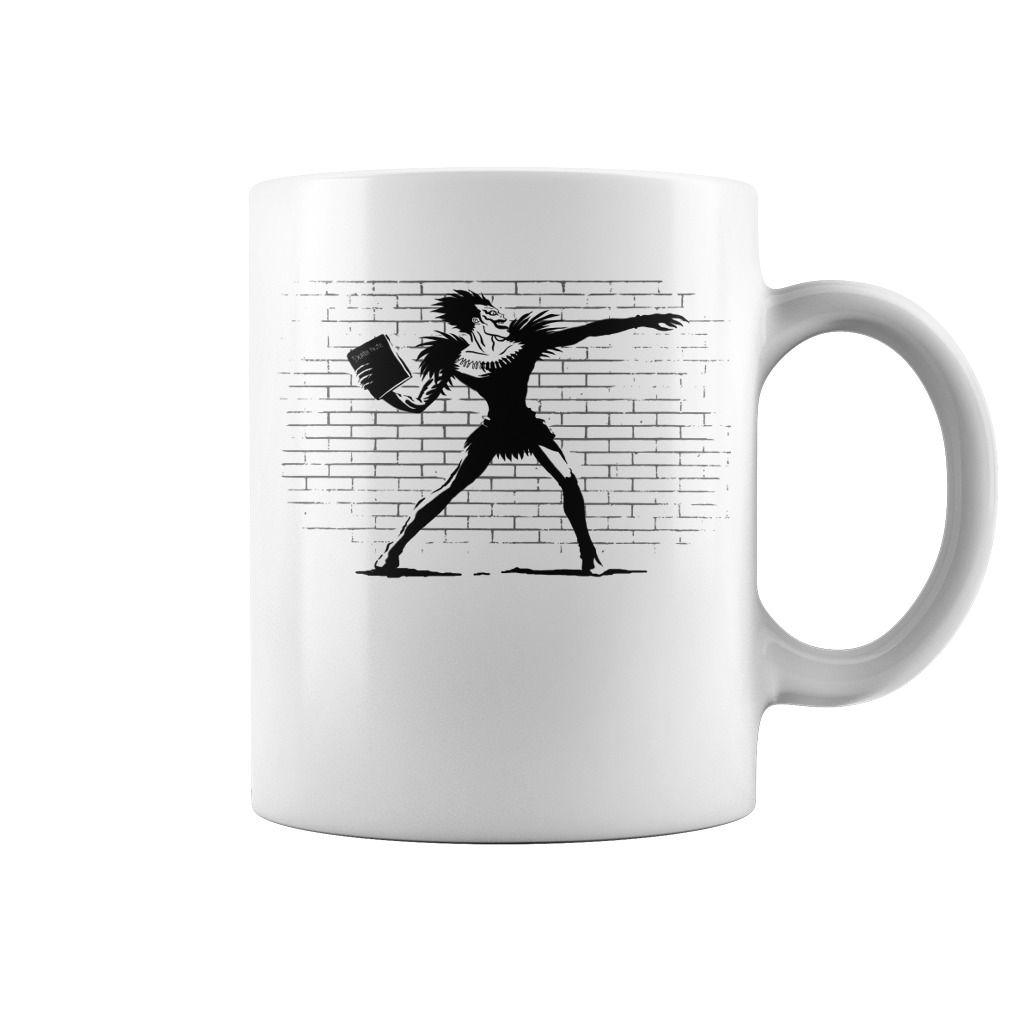 Death Note Thrower Top Mug : coffee mug, papa mug, cool mugs, funny coffee mugs, coffee mug funny, mug gift, #mugs #ideas #gift #mugcoffee #coolmug