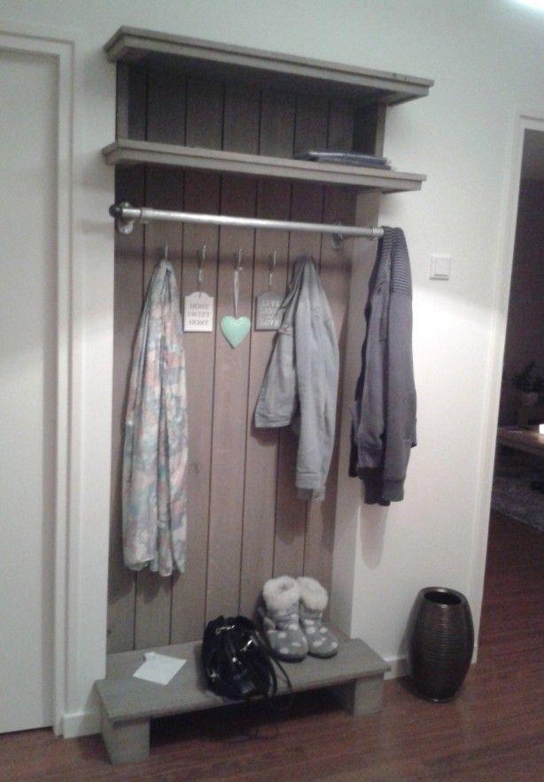 Kapstok landelijk google zoeken huis pinterest zoeken for Maak een kledingkast