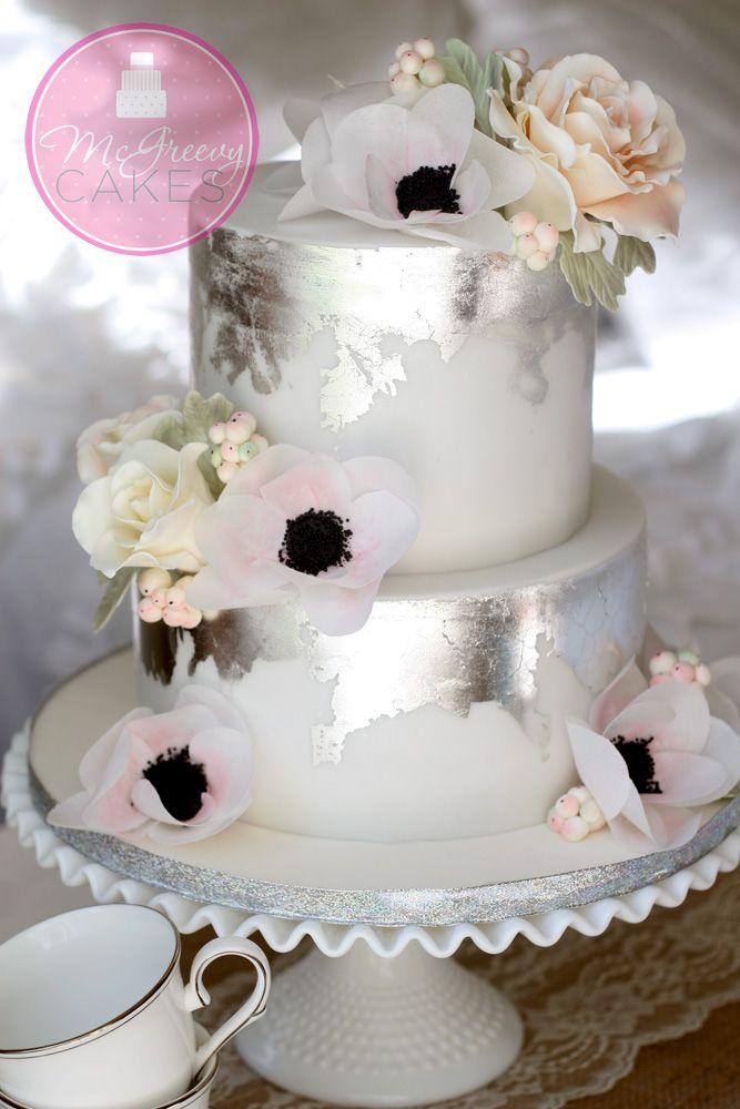 Antique Silver Leaf Tutorial Free Cake Cake