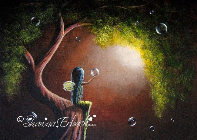 never stop dreaming by Shawna Erback