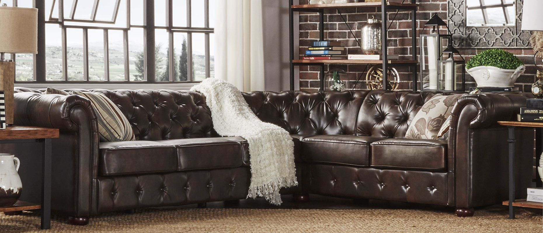 Brilliant Gowans Sectional Collection Reviews Birch Lane Couches Gamerscity Chair Design For Home Gamerscityorg