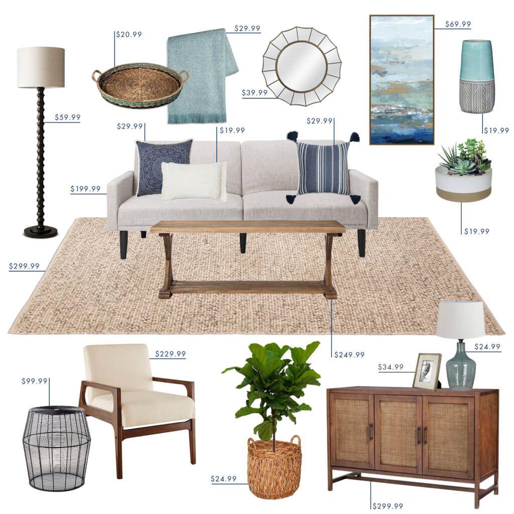 Target Budget Living Room - Emily Henderson  Target living room