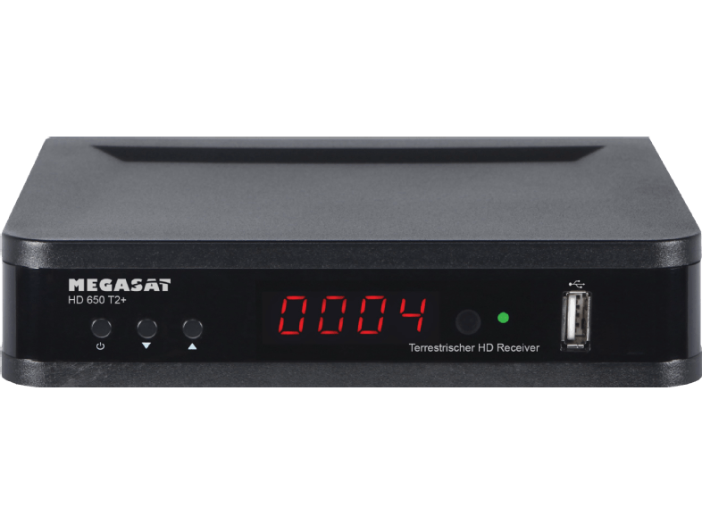 Megasat Hd 650 T2 Dvb T2 Hd Receiver Hdtv Dvb T2 Hd Schwarz 04046173106367 Kategorie Tv Audio Sat Kabel Dvb T Dvb T2 Audio Media Markt