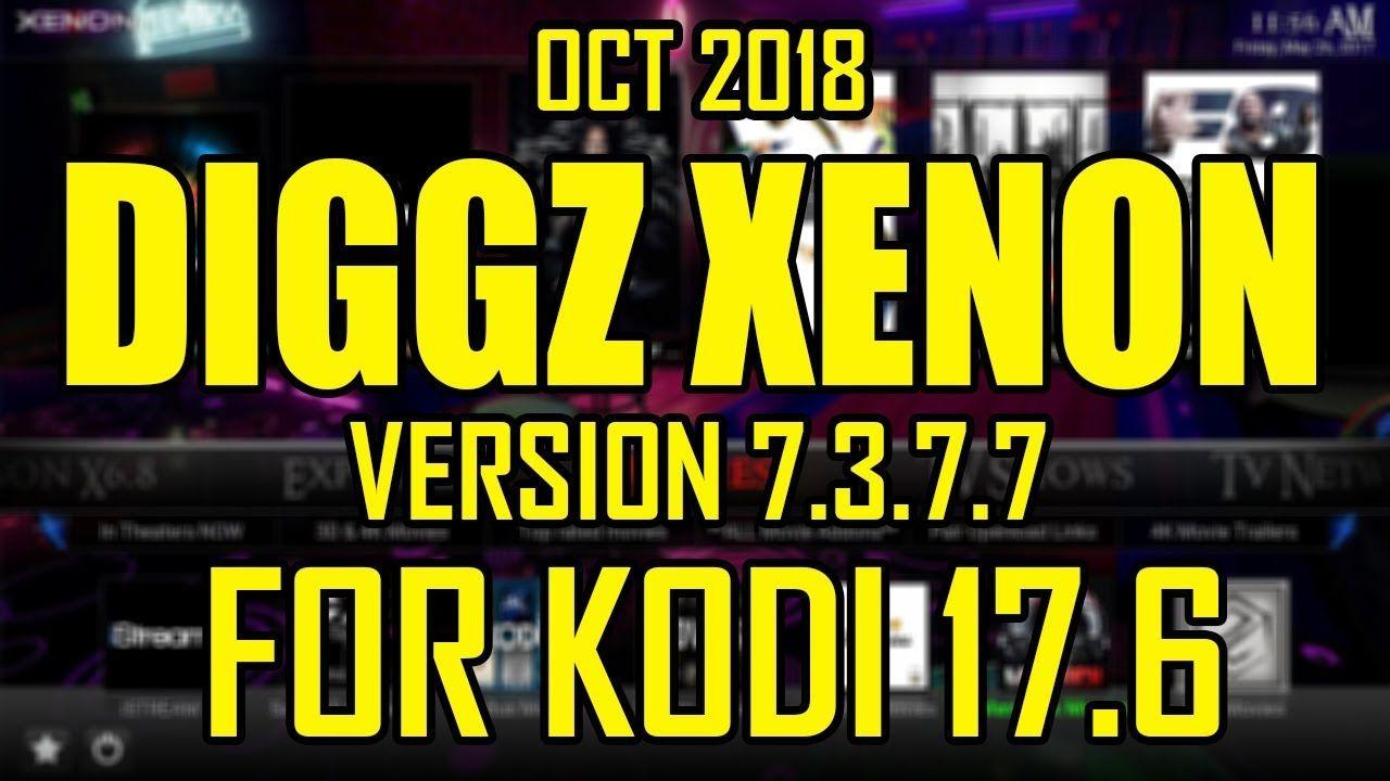Diggz Xenon build V7 3 7 7 From The Chef Wizard For Kodi